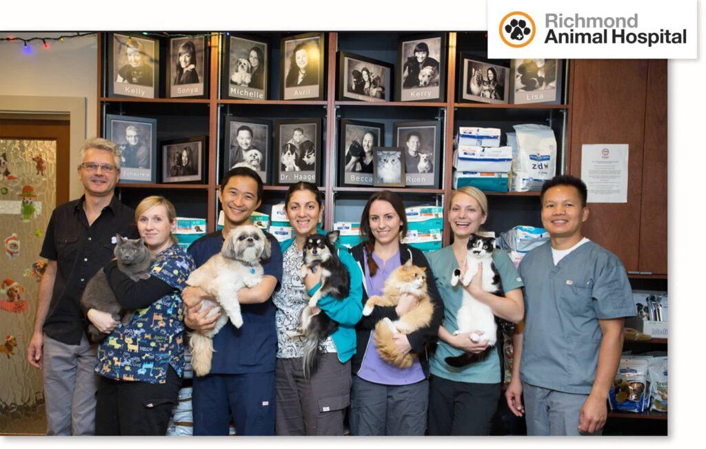 Richmond Animal Hospital Team Photo
